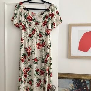 Rose Maxi Dress by Topshop